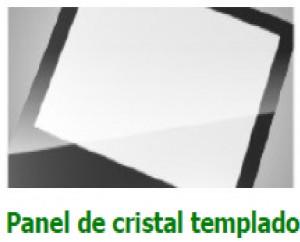PANEL DE CRISTAL TEMPLADO