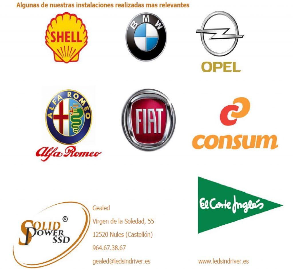 clientes y marca
