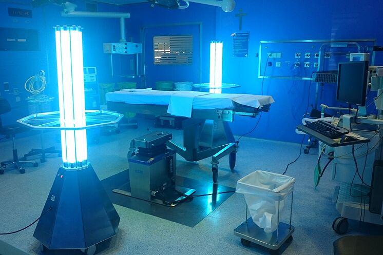 Lampara desinfección ultravioleta
