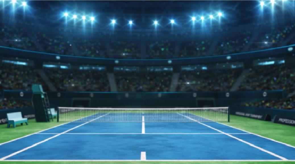 Alumbrado pistas de tenis